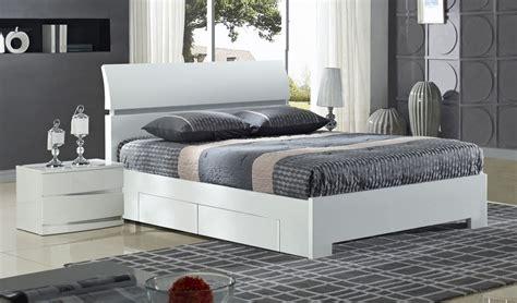 king size bed white credit crunch carpets nottingham widney 4 drawer high