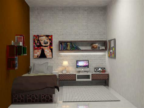 desain interior kamar kos sempit berbagi tips desain kamar kost rapi biaya murah renovasi
