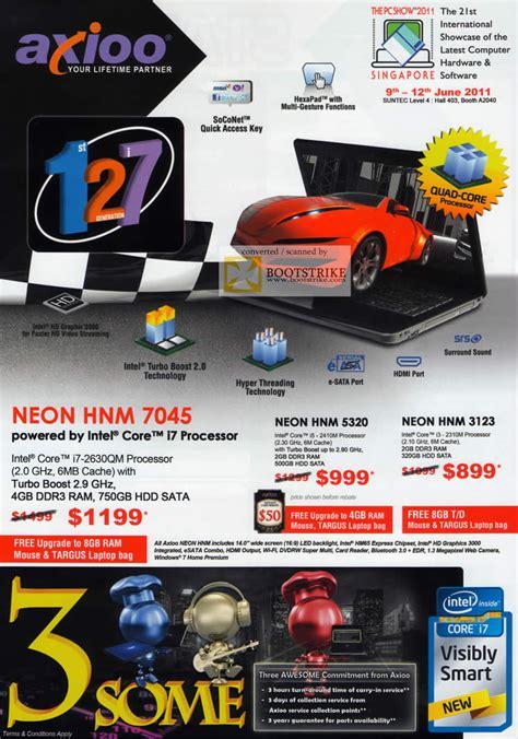 Axioo Neon Hnm P 022 axioo notebooks neon hnm 5320 3123 pc show 2011 price list