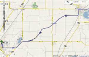 Niles Michigan Map by Map To Niles High Via M 60