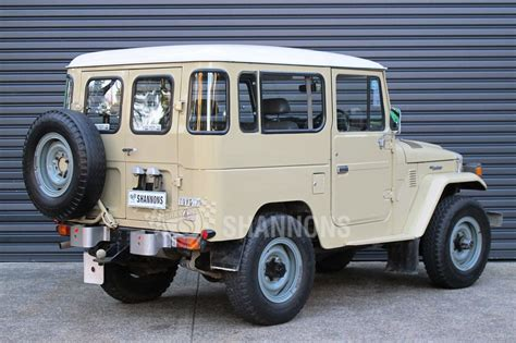 classic land cruiser for sale sold toyota land cruiser bj 42 diesel swb auctions