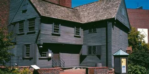 paul revere house boston freedom trail sites walking the historic trail guide