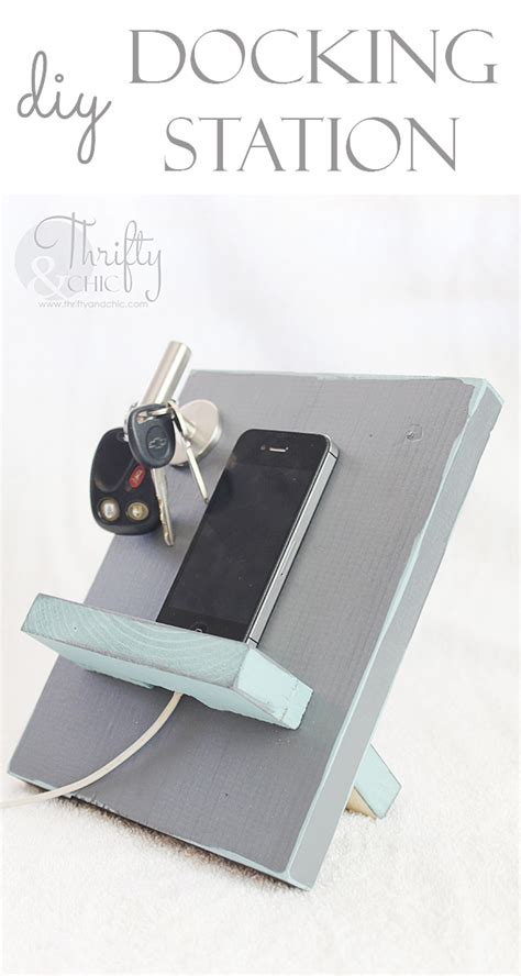 diy docking station thrifty and chic diy projects and home decor