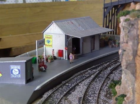 ho scale building nswgr a 2 station with platform model