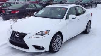 2014 lexus is 250 awd white on parchment luxury package