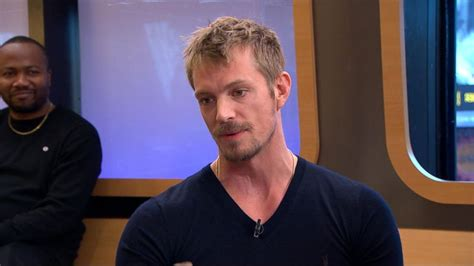 Joel Going by Joel Kinnaman Dishes On His Parents Visiting The Altered