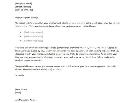 write termination letter oyle kalakaari co