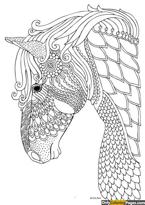 mandala coloring pages horse horse mandala coloring pages free printable online horse