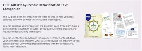 Ayurvedic Detox Program by The Ayurvedic Detox Of Health