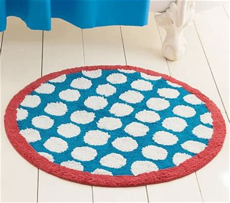 bathtub mat for kids round dot bath mat pottery barn kids