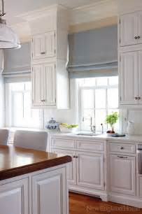 Kitchen Roman Shades - relaxed roman shades kitchen images