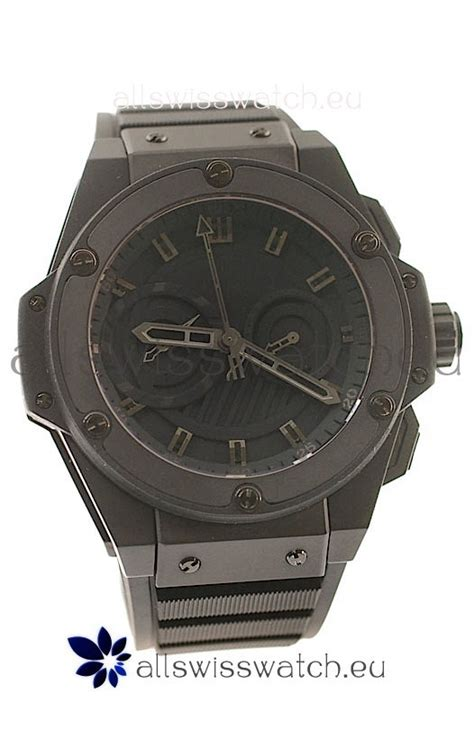 hublot big king power swiss replica all black