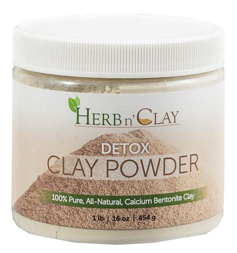Bentonite Detox Powder by Calcium Bentonite Clay Detox Clay Powder Herb N Clay