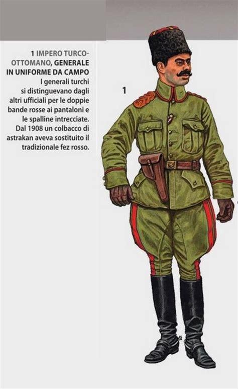 impero turco ottomano impero turco ottomano generale in uniforme da co