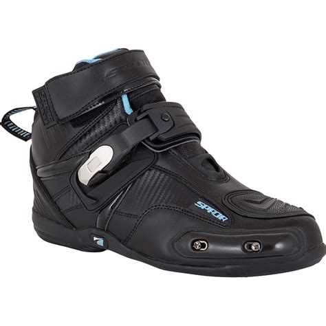 Spada Compact Leather Motorcycle Boots Low Cut Race Sole