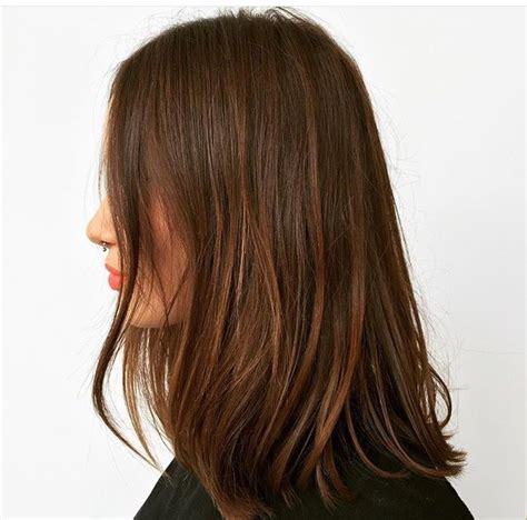 one lenght long layers blunt crown 43 best long blunt cut images on pinterest hair dos