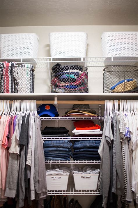 Closet Organizing Ideas On A Budget by Your Closet On A Budget Positively Oakes