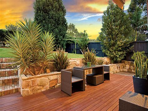 backyard bbq areas outdoor living design with bbq area from a real australian home