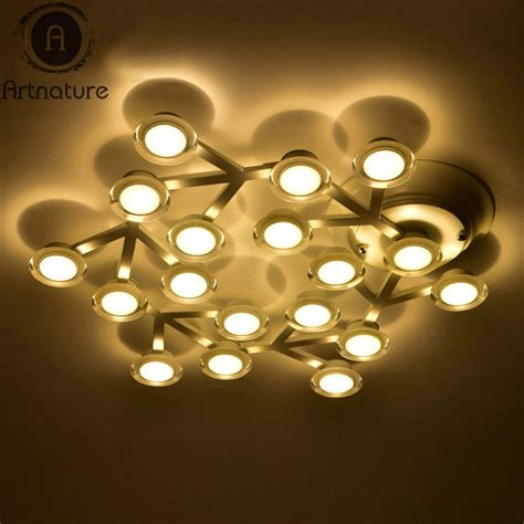 Modern Art Led Star Plum Blossom Decor Ceiling Lights Blossom Center Lights