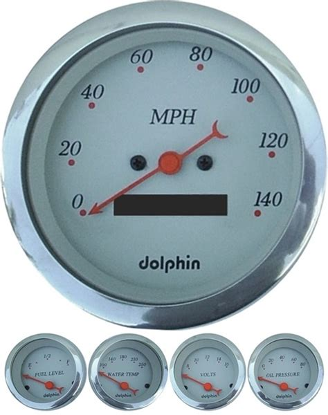 dolphin wiring electronic speedometer auto meter gps