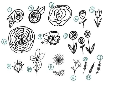doodle drawings of flowers best 25 doodle flowers ideas on doodle ideas