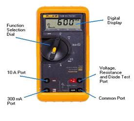 testing a diode with a fluke fluke multimeter environmental resources engineering
