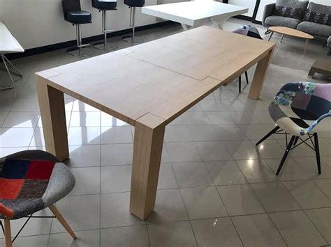 tavolo in rovere naturale tavolo rovere naturale seghettato allungabile tavoli a