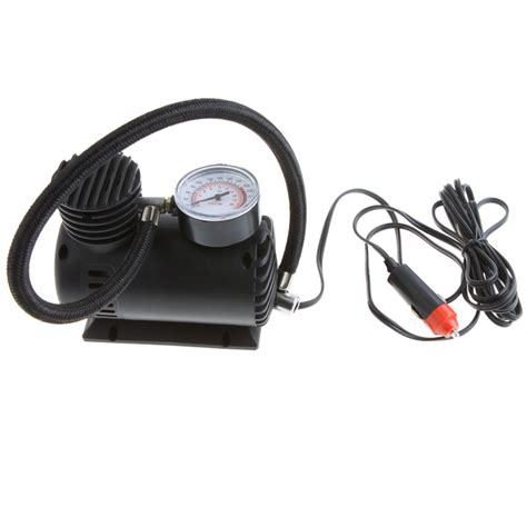 portable car style auto dc 12v electric air compressor tire inflator 300psi automobile emergency