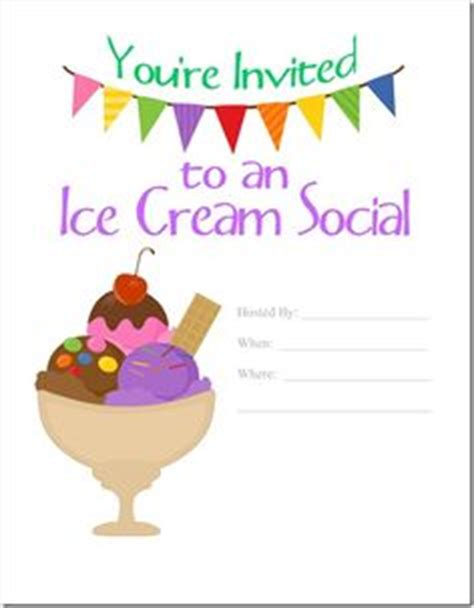 1000 Images About 3 Cheers For Ice Cream On Pinterest Ice Cream Social Ice Cream Cones And Social Invitation Template