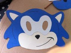 printable hedgehog mask template 1000 images about sonic et mario on pinterest sonic the