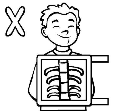 X Ray Printable Coloring Pages | x ray coloring pages coloring home