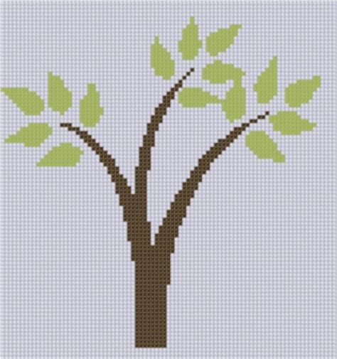 tree cross stitch pattern tree cross stitch by motherbeedesigns embroidery pattern