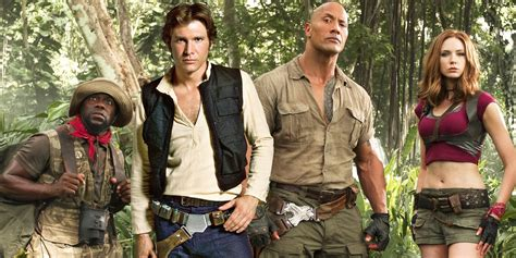 movie after jumanji jumanji the rock reveals star wars easter egg screen rant