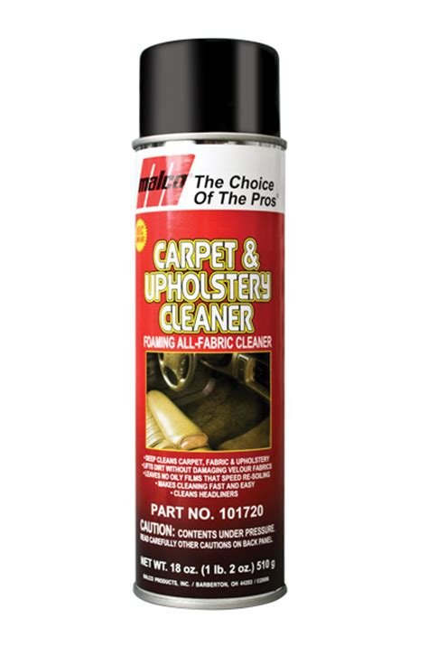 upholstery products foaming carpet and upholstery cleaner
