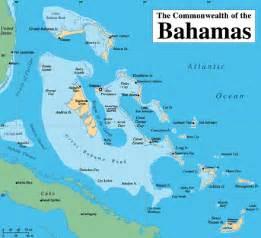 bahamas the map travel map travelquaz