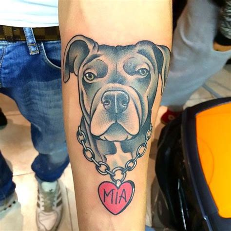 tattoos of pitbulls 33 and lovely tattoos ideas for