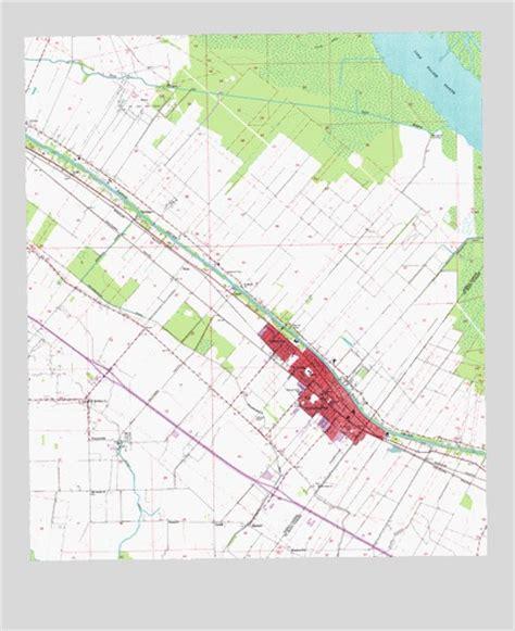 jeanerette louisiana map jeanerette la topographic map topoquest