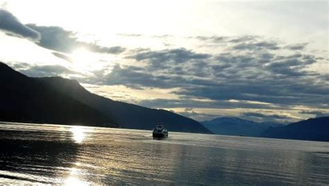express boats from bergen from norled express boat in sognefjord picture of norled