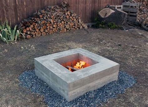 diy handmade pit modern furniture you can make with most materials furniture diy concrete and