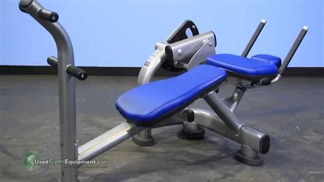 life fitness ab crunch bench life fitness signature ab crunch bench youtube