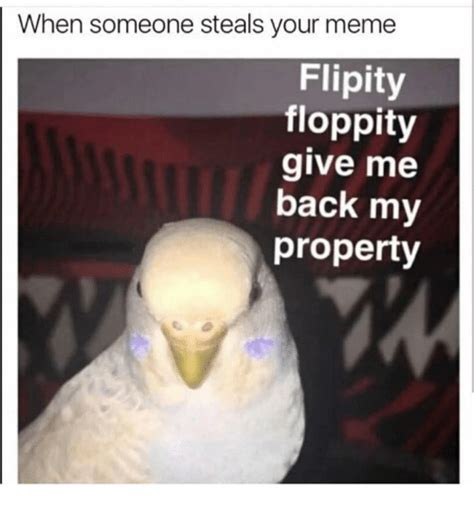 Youre Meme - when someone steals your meme flipity floppity give me