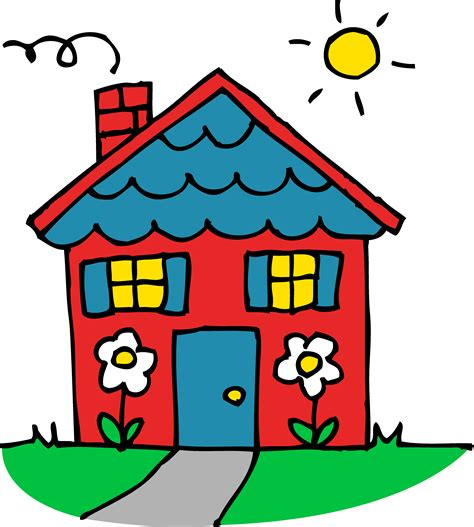 free house music sles cartoon houses clip art free free vector for free download about clipartix