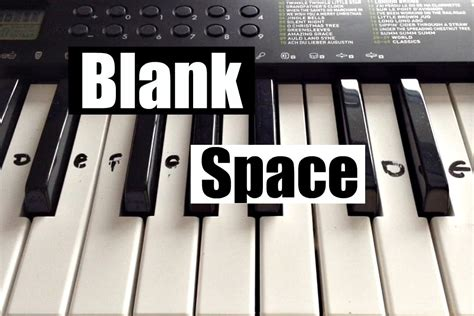 tutorial gitar blank space blank space taylor swift easy keyboard tutorial with