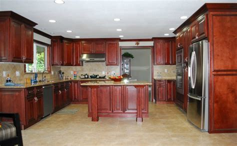 cognac kitchen cabinets cayenne cognac ready to assemble kitchen cabinets