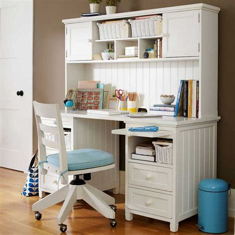 desk for teenager antique white stained teak wood desk with hutch and