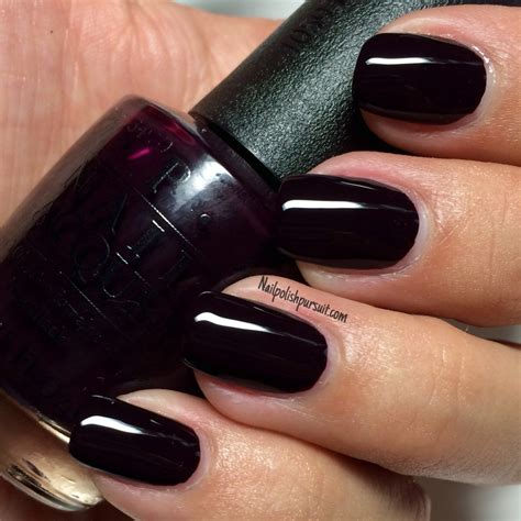 dark nail colors for over 50 lincoln park after dark by opi nailpolishpursuit com