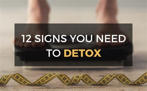 Signs You Need To Detox by Signs You Need To Detox Archives Hotze Health Wellness