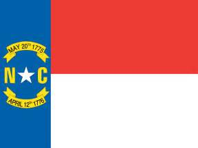 nc state colors carolinian flag flag of carolina us state