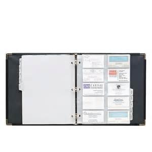 business card binder printer