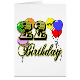 Birthday Quotes 22 Years 22 Years Old Birthday Quotes Quotesgram